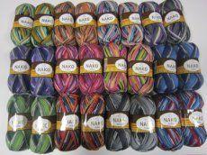 Boho sockgarn Yarn Store, Sock Yarn, Needles Sizes, Color Pallets, Knitting Socks, Crochet Hooks, Mittens, Knitting Patterns, Wool