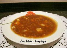 Lencseleves görög módra Chana Masala, Soup, Ethnic Recipes, Diet, Soups, Chowder