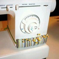 Alfiletero para la máquina de coser