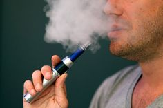 E-Cigarettes set off the fire alarms and are banned in the halls.