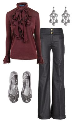 """Soft Summer Casual"" by thaliathemuse ❤ liked on Polyvore"