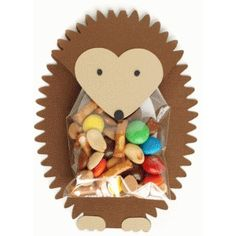 Silhouette Design Store - View Design #40511: hedgehog treat holder                                                                                                                                                                                 More