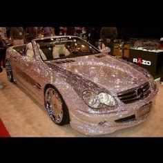 Diamond Mercedes Benz! In love