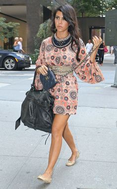 Kourtney Kardashian Day Dress