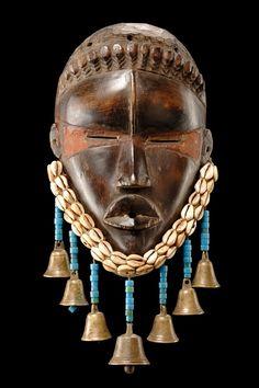 Dan Tankagle Mask, Ivory Coast http://afriart.tumblr.com/post/90197143894/ivory-coast-dan-tankagle-entertainment-mask