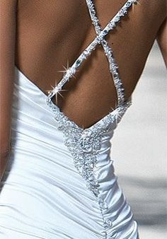 Sparkly Wedding Dress if I were to have a second wedding (vow renewal of course!)