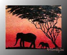Resultado de imagen para africa pintura