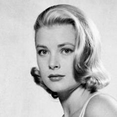 Close-up of Grace Kelly.  Photographed by Philippe Halsman.