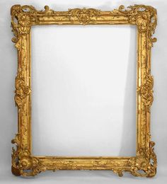French Louis XV mirror wall mirror gilt