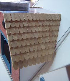 Faire du bois en plastique objets pour decorer les tuiles pinterest - Comment couvrir une toiture ...