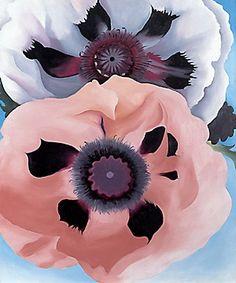 Georgia OKeefe Poppies