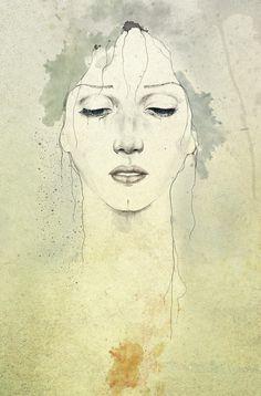 Raining Fine Art Print - Diego Fernandez