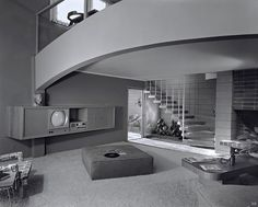 The Les C. House, Los Angeles, CA., Designed by Richard-Spencer Décoration Mid Century, Mid Century Decor, Mid Century House, Mid Century Style, Mid Century Modern Design, Salon Mid-century, Mid-century Interior, Interior Design, Mid Century Living Room