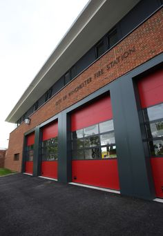 Michelmersh HS Red Multi bricks were specified for Winchester Fire Station