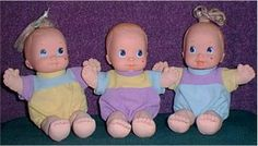 Magic Nursery Baby Dolls- I loved these so much!