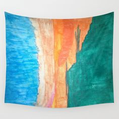 Nature Abstract Wall Tapestry