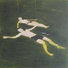 Hrvoje Majer (Croatian, b. 1975),To Let Go, 2006. Oil on canvas, 100 x 100cm.