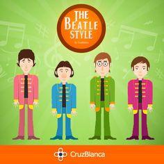 Cliente: CruzBlanca / Proyecto: Concurso The Beatles - Gráfica de Muro.