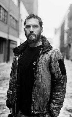 Tom Hardy photographed by David Bailey. This is their second photoshoot together, the first time was a long, long time ago way back in 2002. :)