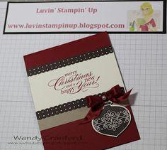 Luvin Stampin Up: Itching for Christmas