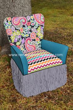 Hey, I found this really awesome Etsy listing at http://www.etsy.com/listing/163087213/vintage-accent-chair-reagans-custom