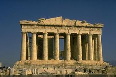 The Acropolis in Greece.  We climbed through this as kids.