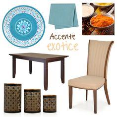 Servește masa într-un decor plin de culoare și stil. #dining #decoideea #moodboard #mobexpert
