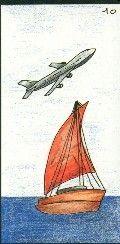 10- LE BATEAU - Carte NEUTRE Personnalité : Personne rêveuse, pleine d'imagination. Personne attirée par les cultures différentes, l'exotisme. http://othoharmonie.unblog.fr/category/oracle-ge/