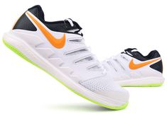 the best attitude 1531a 6a72e Nike Air Zoom Vapor X HC Men s Tennis Shoes White Racket Racquet NWT  AA8030-004