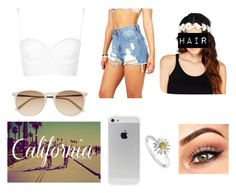 """Untitled #125"" by elissareyes ❤ liked on Polyvore featuring Topshop, Witchery, Daisy Jewellery and Wet Seal"