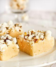 Popcorn Vanilla Bean Fudge