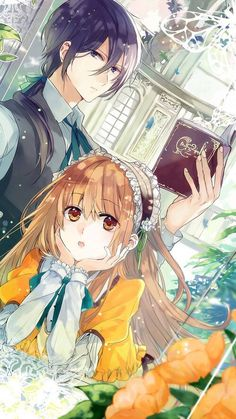 Immagine di anime, boy, and couple