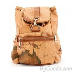 Retro Leisure World Map Backpacks - Maybe this one will be next...