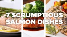 7 Scrumptious Salmon Dishes  #Dishes #Salmon #Scrumptious