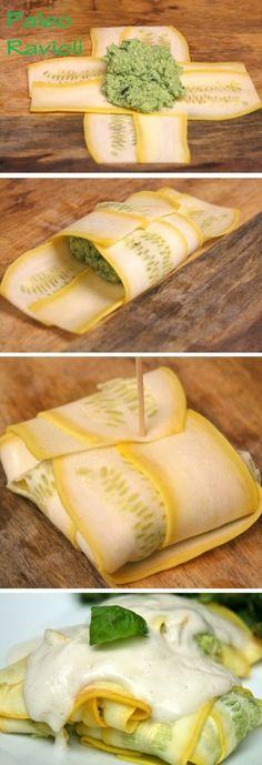 Healthy Eating - Paleo Ravioli by Auli