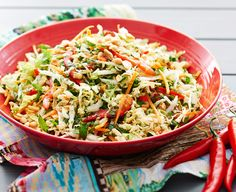 South East Asian Slaw - Everyday Delicious Kitchen
