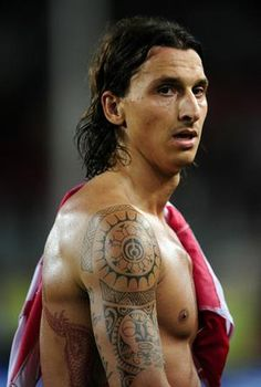 Zlatan Ibrahimovic... whats it with bad boys that we love! :)