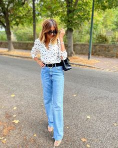 Outfit Look, Bell Bottoms, Bell Bottom Jeans, Summer Outfits, Spring Summer, Instagram, Pants, Fashion, Trouser Pants