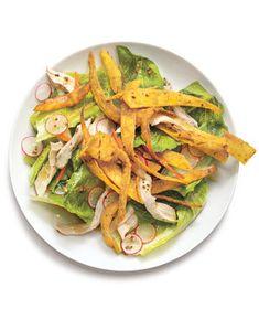 Chicken Salad With Crispy Tortillas | RealSimple.com