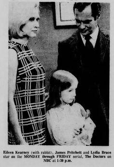 Lydia Bruce (Maggie Powers); Eileen Kearney (Greta Powers); James Pritchett (Matt Powers).  The Doctors, 1970