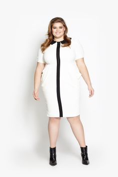 Beth Ditto's new ethically-produced clothing line has been released!! Sizes 14-38. Here is the Nina Dress.