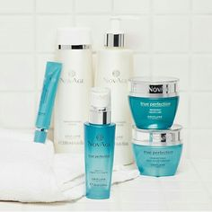 Oriflame novage trueperfection daycream nightcream serum lotions eyecream