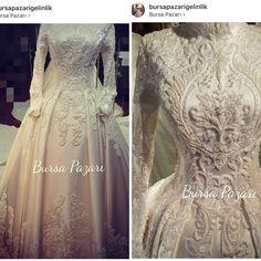Hijabi Wedding, Hijab Wedding Dresses, Modest Wedding Gowns, Dream Wedding Dresses, Designer Wedding Dresses, Bridal Dresses, Wedding Dress Drawings, Malay Wedding Dress, Types Of Gowns