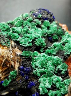 from Morocco Malachite, Morocco, Minerals, Africa, Herbs, Food, Essen, Herb, Meals