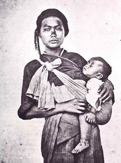 Taiwanese aborigine woman and infant, by John Thomson, 1871 - Wikipedia, the free encyclopedia