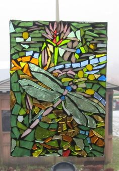 dragonfly mosaic by elsa
