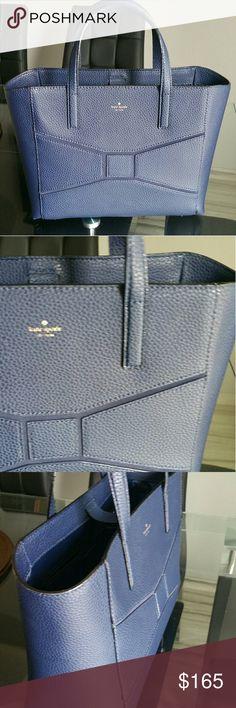 💥💥WEEKEND SALE💥💥KATE SPADE BLUE TOTE NWOT LOOKING TO SELL TV 350 kate spade Bags Shoulder Bags