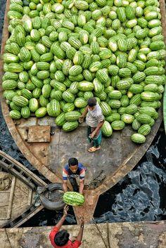 bangladesh art culture travel Watermelon in Bangladesh Nepal, Laos, Amazing India, Amazing Nature, Aerial Photography, Travel Photography, People Around The World, Around The Worlds, Beautiful World