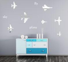 Detské dekorácie na stenu v motíve lietadiel Home Decor, Decoration Home, Room Decor, Home Interior Design, Home Decoration, Interior Design