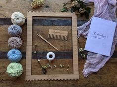 Large Weaving Loom Kit by TheUnusualPear on Etsy